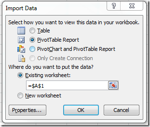 Visio Services External Data Refresh Part 4 – Archive of