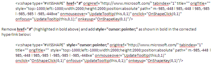 Hyperlink Problem in Internet Explorer 7 – Archive of Visio